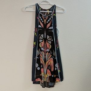 Free People Printed Tunic Dress